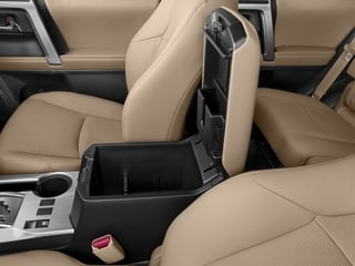 2018 Toyota 4Runner Pictures 4Runner Utility 4D Limited 4WD V6 photos center storage console