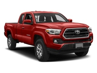 2018 Toyota Tacoma Pictures Tacoma SR5 Extended Cab 4WD I4 photos side front view