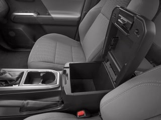 2018 Toyota Tacoma Pictures Tacoma SR5 Extended Cab 4WD I4 photos center storage console