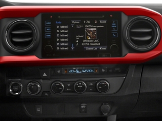 2018 Toyota Tacoma Pictures Tacoma TRD Off-Road Extended Cab 4WD V6 photos stereo system