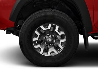 2018 Toyota Tacoma Pictures Tacoma TRD Off-Road Extended Cab 4WD V6 photos wheel