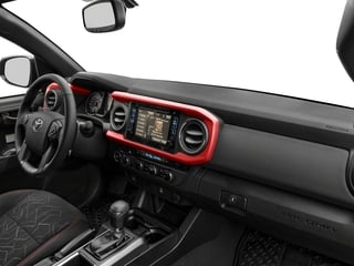 2018 Toyota Tacoma Pictures Tacoma TRD Off-Road Extended Cab 4WD V6 photos passenger's dashboard