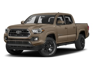 2018 Toyota Tacoma Pictures Tacoma SR5 Crew Cab 4WD V6 photos side front view