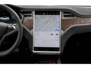 2018 Tesla Motors Model S Pictures Model S Sed 4D D Performance 100 kWh AWD photos navigation system