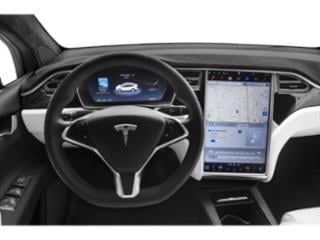 2018 Tesla Motors Model X Pictures Model X Utility 4D D Performance 100 kWh AWD photos driver's dashboard
