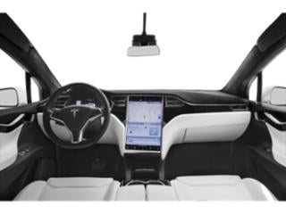 2018 Tesla Motors Model X Pictures Model X Utility 4D D Performance 100 kWh AWD photos full dashboard