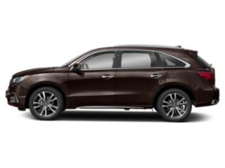 2019 Acura MDX Pictures MDX FWD w/Advance/Entertainment Pkg photos side view