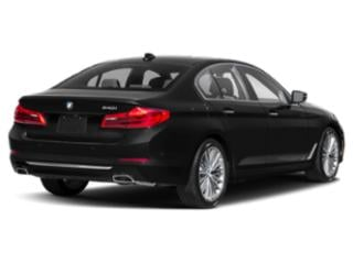 2019 BMW 5 Series Pictures 5 Series 540i xDrive Sedan photos side rear view
