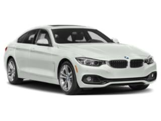 2019 BMW 4 Series Pictures 4 Series 440i xDrive Gran Coupe photos side front view