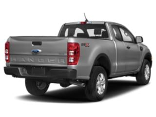 2019 Ford Ranger Pictures Ranger LARIAT 2WD SuperCrew 5' Box photos side rear view