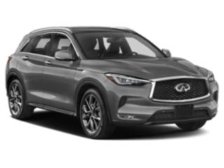 2019 INFINITI QX50 Pictures QX50 LUXE AWD photos side front view