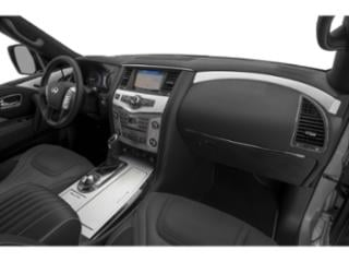 2019 INFINITI QX80 Pictures QX80 LUXE RWD photos passenger's dashboard