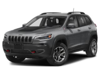 2019 Jeep Cherokee Pictures Cherokee Trailhawk Elite 4x4 photos side front view