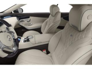 2019 Mercedes-Benz S-Class Pictures S-Class S 560 4MATIC Coupe photos front seat interior