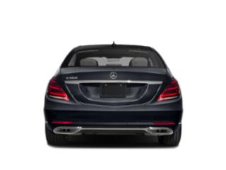 2019 Mercedes-Benz S-Class Pictures S-Class S 560 4MATIC Sedan photos rear view