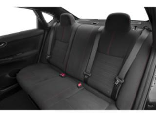 2019 Nissan Sentra Pictures Sentra SL CVT photos backseat interior