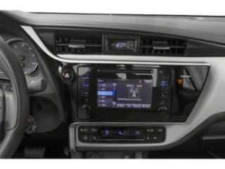 2019 Toyota Corolla Pictures Corolla XSE CVT photos stereo system