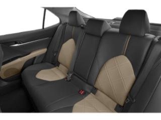 2019 Toyota Camry Pictures Camry Hybrid XLE CVT photos backseat interior