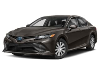 2019 Toyota Camry Pictures Camry Hybrid XLE CVT photos side front view
