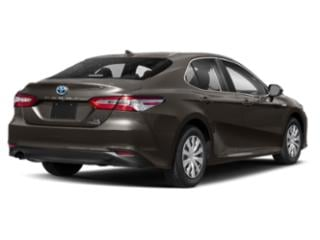 2019 Toyota Camry Pictures Camry Hybrid XLE CVT photos side rear view