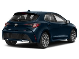 2019 Toyota Corolla Hatchback Pictures Corolla Hatchback SE Manual photos side rear view