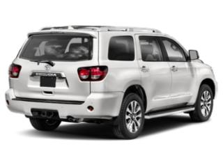 2019 Toyota Sequoia Pictures Sequoia Platinum 4WD photos side rear view