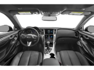 2020 INFINITI Q60 Pictures Q60 3.0t LUXE AWD photos full dashboard