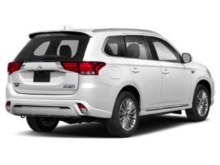 2020 Mitsubishi Outlander PHEV Pictures Outlander PHEV SEL S-AWC photos side rear view