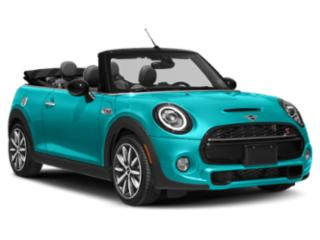 2021 MINI Convertible Pictures Convertible Cooper FWD photos side front view