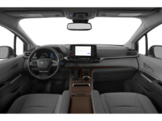2021 Toyota Sienna Pictures Sienna LE AWD 8-Passenger photos full dashboard