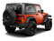 2011 Jeep Wrangler Pictures Wrangler Utility 2D Rubicon 4WD photos side rear view