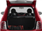 2015 FIAT 500 Pictures 500 Hatchback 3D Lounge I4 photos open trunk