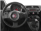 2015 FIAT 500 Pictures 500 Hatchback 3D I4 Turbo photos driver's dashboard