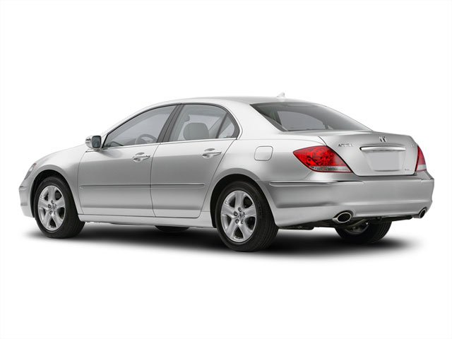 2008 Acura RL Prices and Values Sedan 4D Navigation AWD side rear view