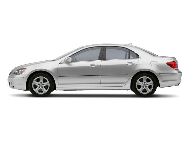 2008 Acura RL Prices and Values Sedan 4D Navigation AWD side view