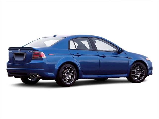 2008 Acura TL Prices and Values Sedan 4D S 3.5 side rear view