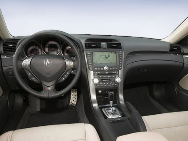 2008 Acura TL Prices and Values Sedan 4D S 3.5 full dashboard