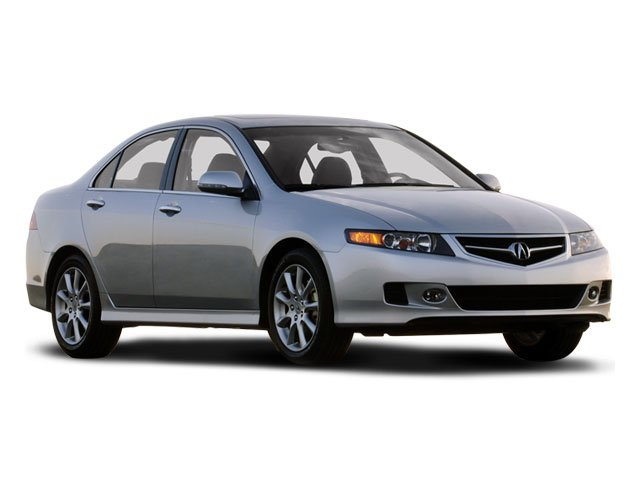 2008 Acura TSX Prices and Values Sedan 4D Navigation side front view