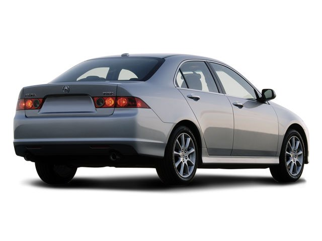 2008 Acura TSX Prices and Values Sedan 4D Navigation side rear view