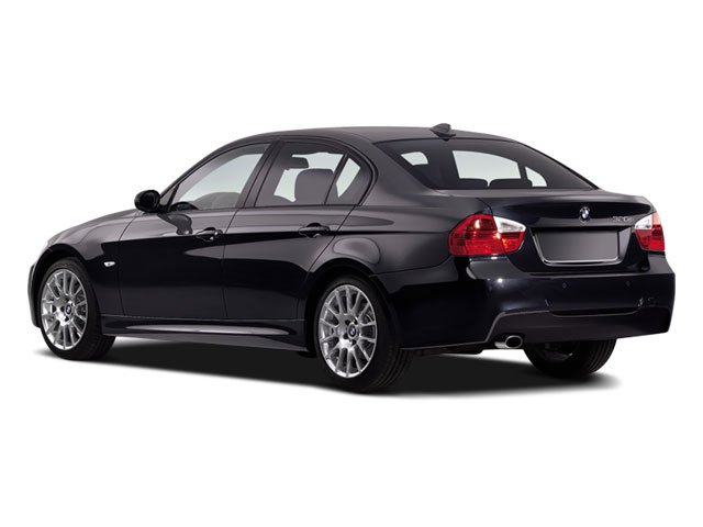 2008 BMW 3 Series Pictures 3 Series Sedan 4D 328xi AWD photos side rear view