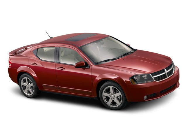2008 Dodge Avenger Prices and Values Sedan 4D R/T side front view