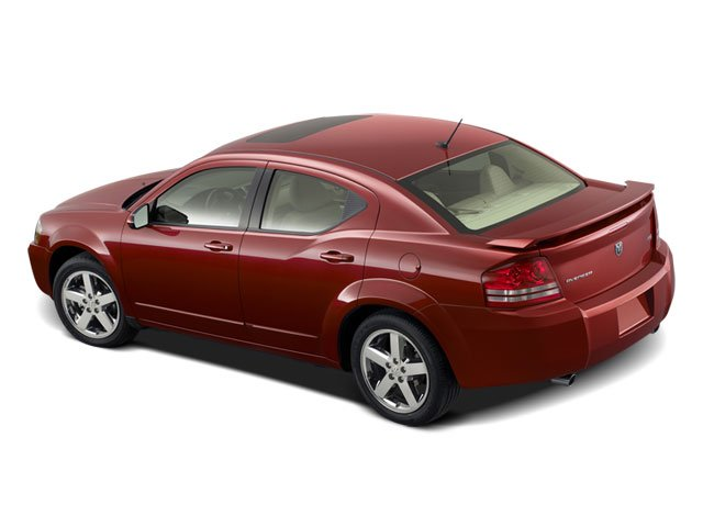 2008 Dodge Avenger Prices and Values Sedan 4D SXT side rear view