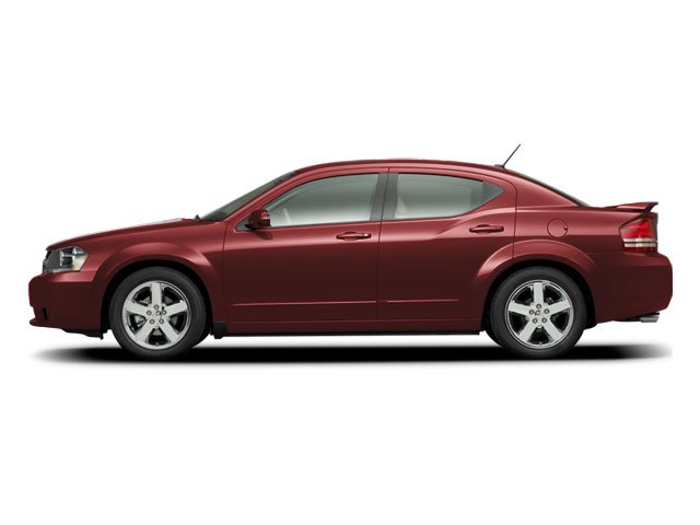 2008 Dodge Avenger Prices and Values Sedan 4D SXT side view