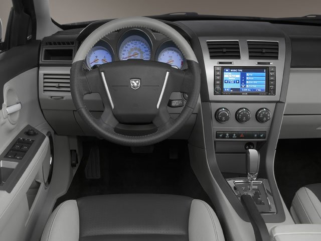 2008 Dodge Avenger Prices and Values Sedan 4D SXT driver's dashboard
