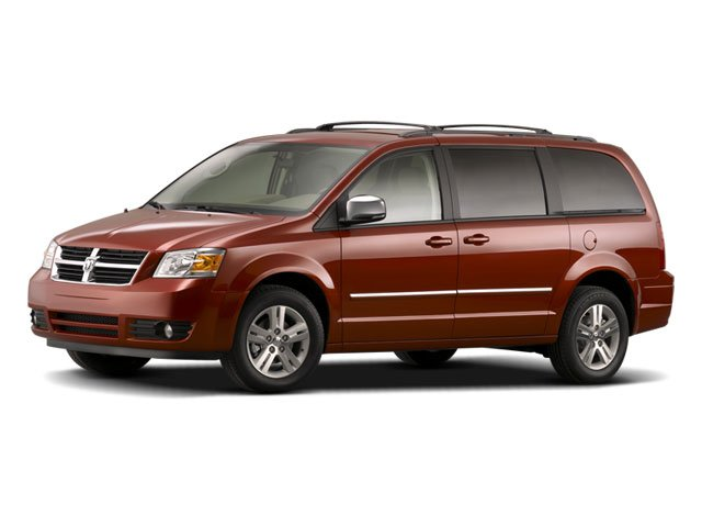 2008 Dodge Grand Caravan Prices and Values Grand Caravan SXT 4.0L side front view