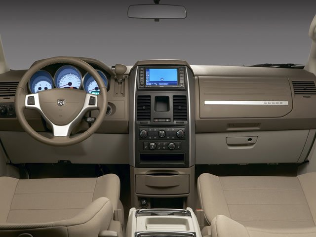 2008 Dodge Grand Caravan Prices and Values Grand Caravan SXT 4.0L full dashboard