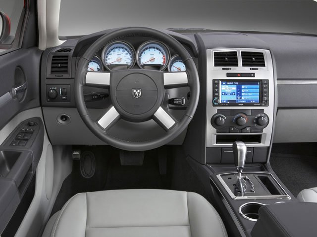 2008 Dodge Charger Prices and Values Sedan 4D SE 2.7 driver's dashboard