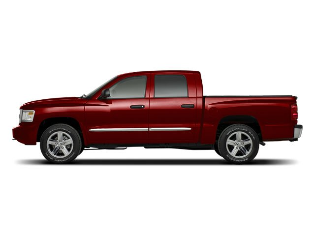2008 Dodge Dakota Prices and Values Quad Cab SLT side view