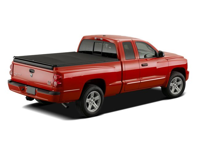 2008 Dodge Dakota Pictures Dakota Club Cab TRX photos side rear view