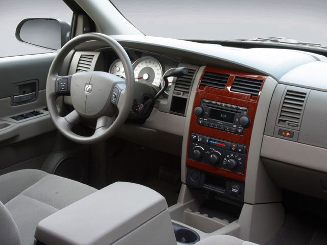 2008 Dodge Durango Pictures Durango Utility 4D Adventurer 2WD photos driver's dashboard